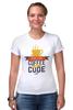 """Футболка Стрэйч (Женская) """"Программист (Programmer)"""" - кофе, coffee, код, программист, code"""
