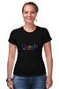 "Футболка Стрэйч ""Google me now"" - google, social network, internet, search, соц сеть"