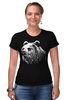 "Футболка Стрэйч ""Медведь"" - bear, медведь"