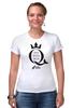 "Футболка Стрэйч ""Open Water Queen"" - бег, соревнования, плавание, марафон, триатлон"