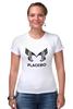 "Футболка Стрэйч ""Placebo (Wings)"" - wings, placebo, brian molko, брайан молко"