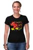 """Футболка Стрэйч (Женская) """"Flash (8 Bit)"""" - flash, pixel art, пиксельная графика, флэш"""
