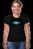 """Футболка Стрэйч """"Галактика"""" - футболка, в подарок, оригинально, девушке"""