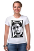 "Футболка Стрэйч (Женская) ""Edward Snowden"" - америка, россия, цру, edward snowden, эдвард сноуден"