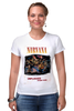 "Футболка Стрэйч ""Nirvana Unplagged album t-shirt"" - гранж, nirvana, kurt cobain, курт кобейн, нирвана"