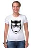 """Футболка Стрэйч """"Женщина-кошка (Catwoman)"""" - batman, бэтмен, женщина-кошка, catwoman"""