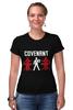"Футболка Стрэйч ""Covenant"" - covenant, futurepop, eskil simonsson, ebm, музыка"