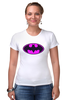 "Футболка Стрэйч (Женская) ""Бэтмен (Batman)"" - batman, бэтмен"