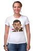 "Футболка Стрэйч ""Mr.Bean"" - мистер бин, mr bean, актёр, роуэн аткинсон, rowan atkinson"