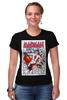 "Футболка Стрэйч (Женская) ""Madman"" - комикс, madman, image comics"