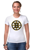 "Футболка Стрэйч ""Boston Bruins"" - медведь, хоккей, nhl, бостон, boston bruins"
