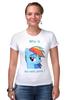 """Футболка Стрэйч (Женская) """"the best pony"""" - pony, пони, rainbow, dash, best, лучшая, рэйнбоу, дэш"""