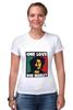 """Футболка Стрэйч (Женская) """"Bob Marley """" - любовь, регги, боб марли, reggae, ska, jamaica"""