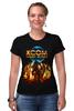 "Футболка Стрэйч (Женская) ""X-COM 2"" - sci fi, ufo, x-com"
