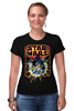 """Футболка Стрэйч """"Star Wars"""" - star wars, звездные войны, дарт вейдер, хан соло, лея органа"""