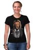 """Футболка Стрэйч (Женская) """"Мистер Лев"""" - king, хищник, лев, lion, animal, царь зверей"""