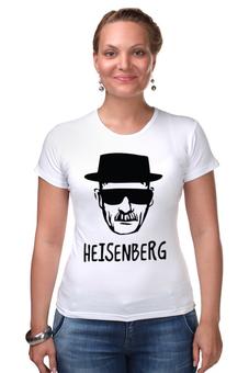 "Футболка Стрэйч ""Heisenberg"" - во все тяжкие, драма, breaking bad, гейзенберг, walter white"