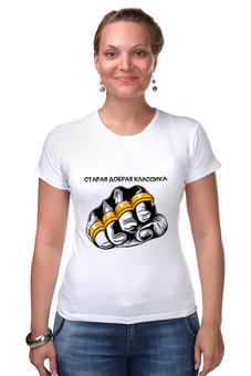 """Футболка Стрэйч """"старая школа-2"""" - old school, старая школа, футболки с надписями, купить футболку мужскую, мужские футболки москва"""