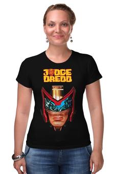 "Футболка Стрэйч ""Judge Dredd"" - кино, сильвестр сталлоне, sylvester stallone, судья дредд, judge dredd"