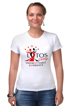 "Футболка Стрэйч ""Unforgettable Experience Tees"" - lotos, тск лотос, lotos camp"