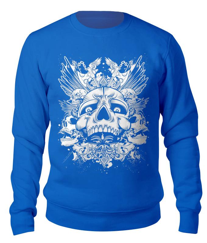 Свитшот унисекс хлопковый Printio Skull design свитшот унисекс хлопковый printio спиннер