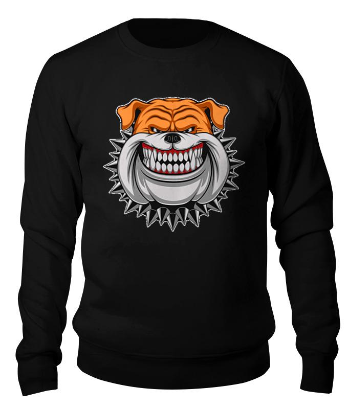 Свитшот унисекс хлопковый Printio Bulldog bulldog 150ml