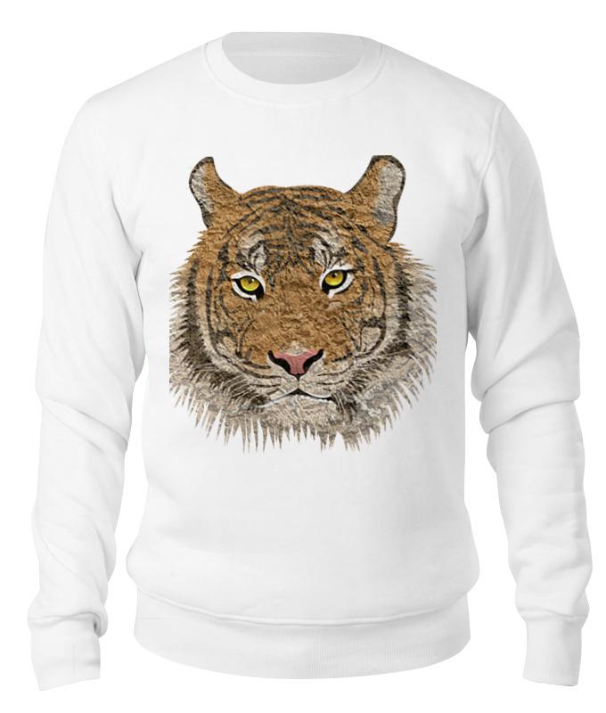 Свитшот унисекс хлопковый Printio Дикий тигр браслеты
