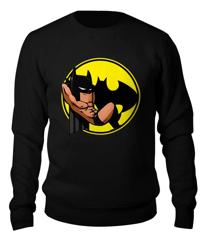 Свитшот унисекс хлопковый Printio Бэтмен (batman) свитшот print bar goddamn batman