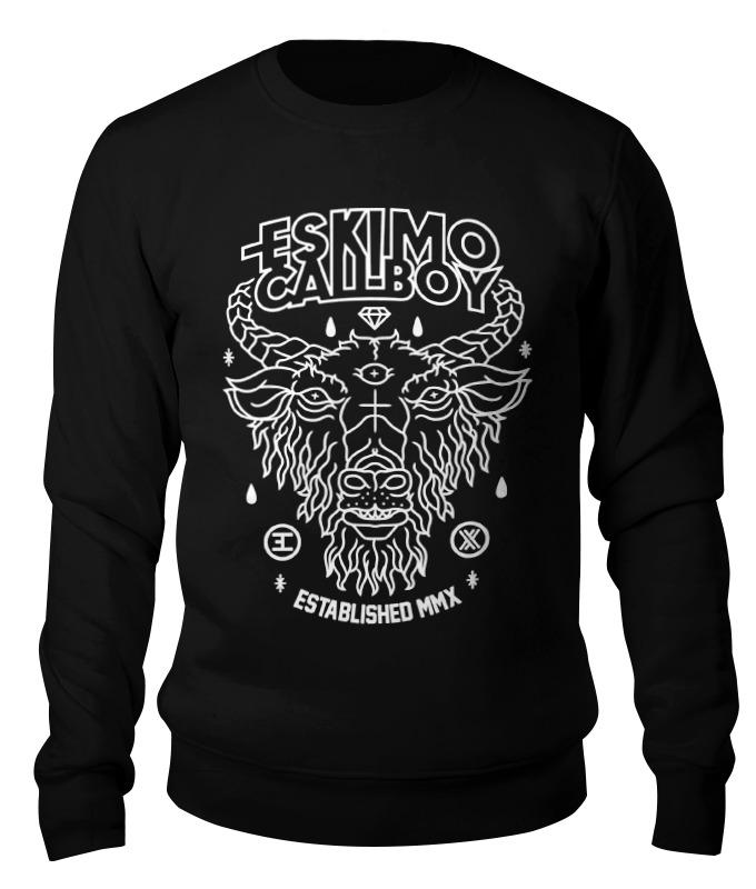 Свитшот унисекс хлопковый Printio Eskimo callboy цена и фото