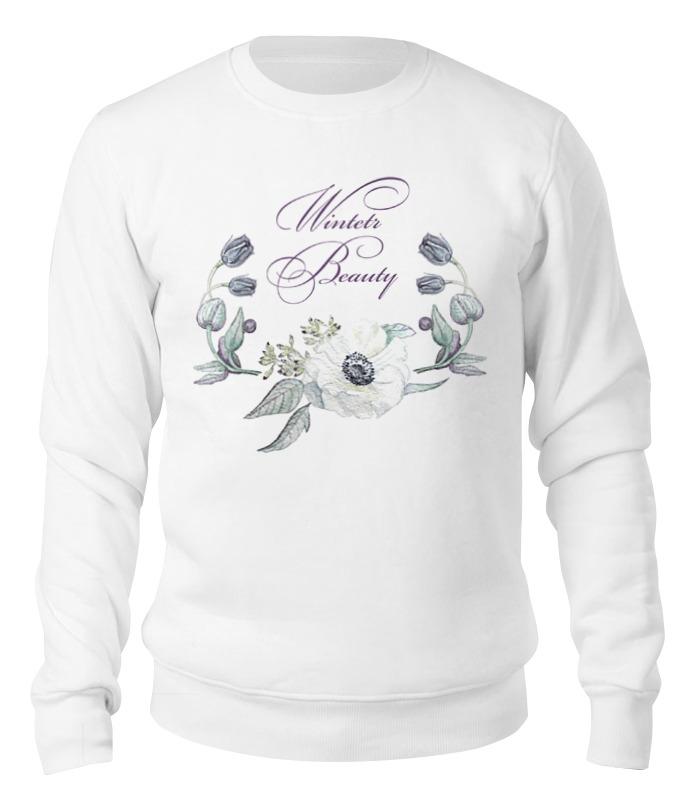 Свитшот унисекс хлопковый Printio Winter beauty (зимняя красота) сумка printio античная красота
