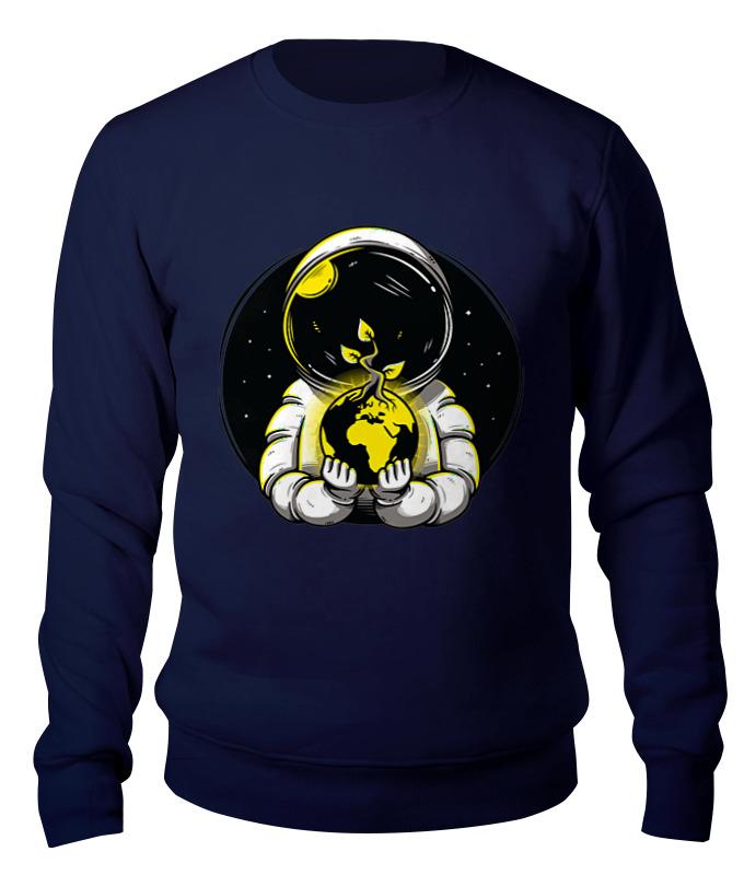 Свитшот унисекс хлопковый Printio Космонавт свитшот print bar космонавт и медуза