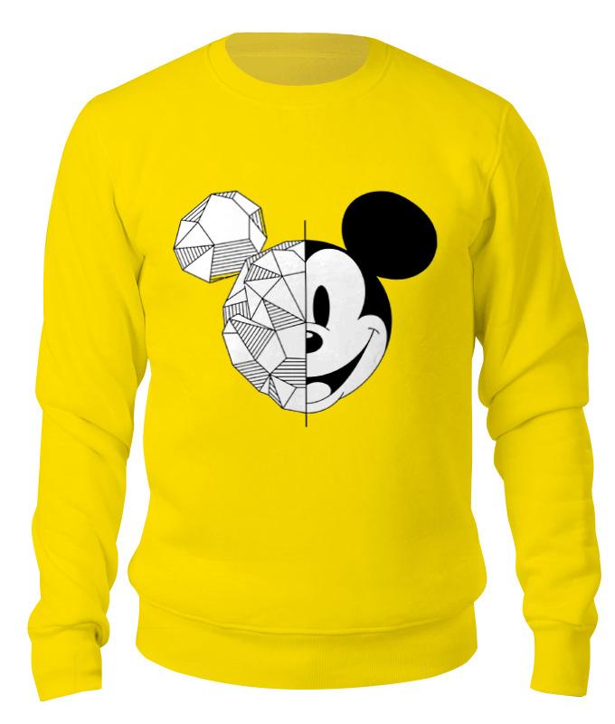 Свитшот унисекс хлопковый Printio Микки маус футболка print bar mickey mouse микки маус