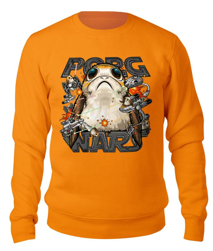 Свитшот унисекс хлопковый Printio Porg wars - the last jedi funko pop bobble фигурка star wars the last jedi porg