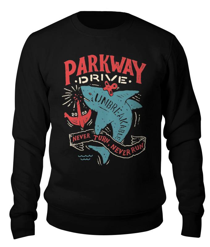 Свитшот унисекс хлопковый Printio Parkway drive