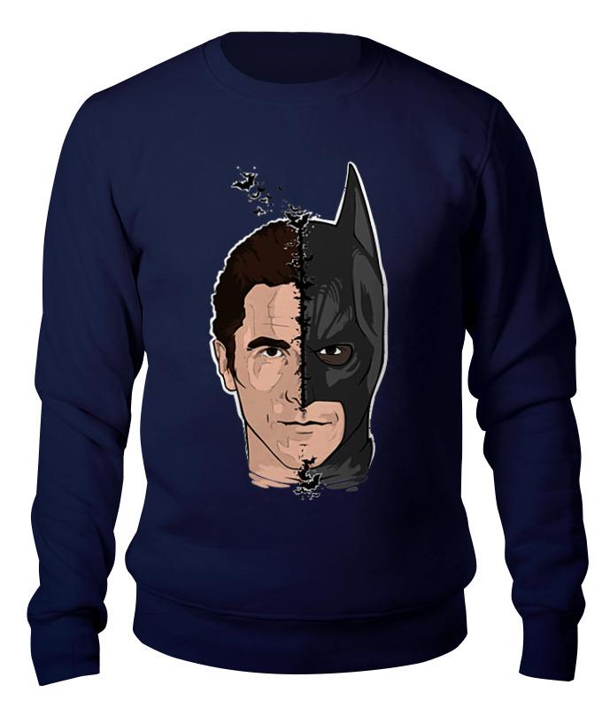 Свитшот унисекс хлопковый Printio Бэтмен (batman)