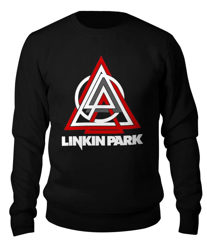 Свитшот унисекс хлопковый Printio Linkin park свитшот унисекс хлопковый printio тайцзи великий предел