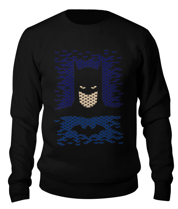 Свитшот унисекс хлопковый Printio Бетмэн (batman) свитшот унисекс хлопковый printio спиннер