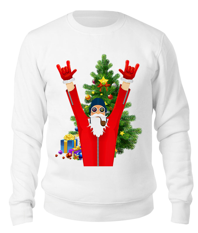 Свитшот унисекс хлопковый Printio Santa pilot свитшот унисекс хлопковый printio bad santa merry christmas