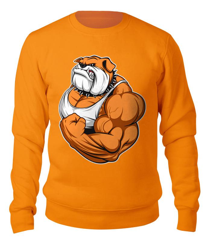 Свитшот унисекс хлопковый Printio Bulldog sport bulldog 150ml