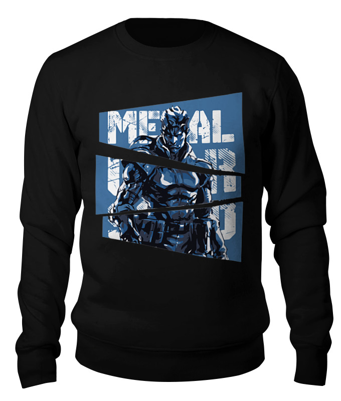 Свитшот унисекс хлопковый Printio Metal gear solid свитшот solid solid so999emcfav6