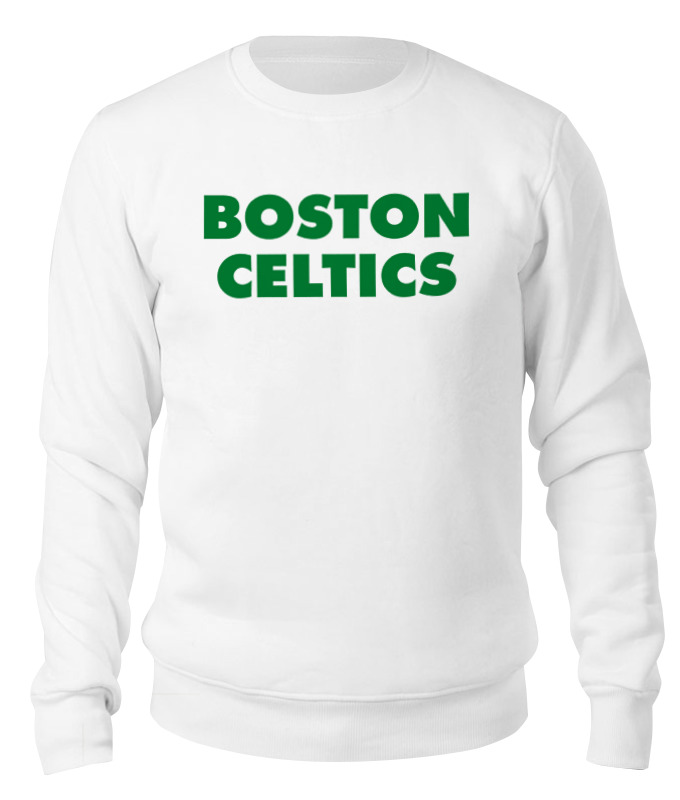 Свитшот унисекс хлопковый Printio Boston celtics белая дмитрий потапов команды – команды – команды