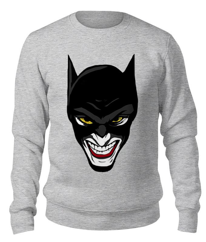 Printio Бэтмен и джокер свитшот унисекс хлопковый printio бэтмен и женщина кошка