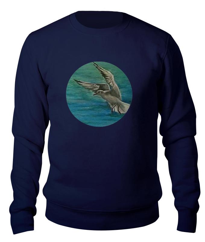 Свитшот унисекс хлопковый Printio Чайка 海鸥 seagull чайка