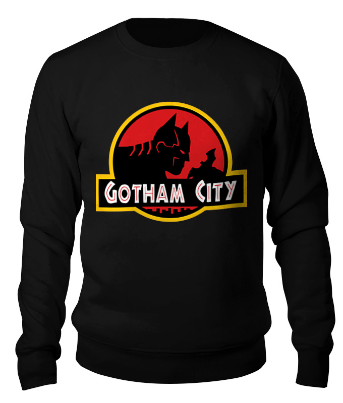 Свитшот унисекс хлопковый Printio Бетмэн (batman) свитшот print bar goddamn batman