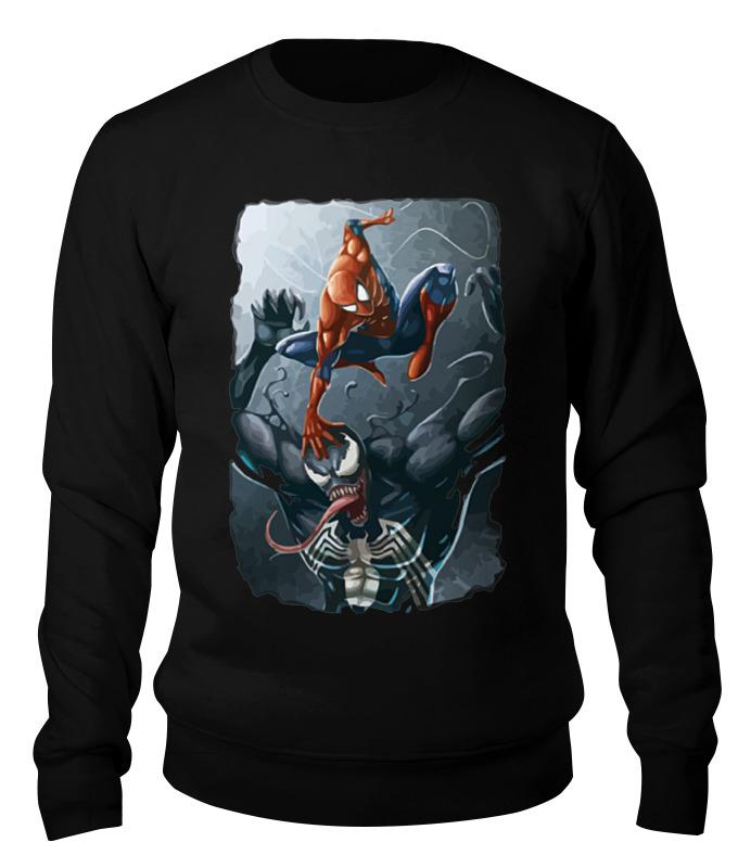 Printio Человек паук и веном футболка print bar человек паук vs веном