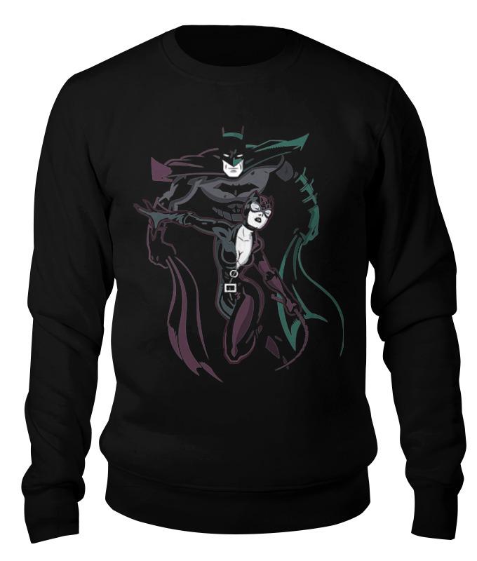 Printio Бэтмен и женщина - кошка свитшот унисекс хлопковый printio бэтмен и женщина кошка