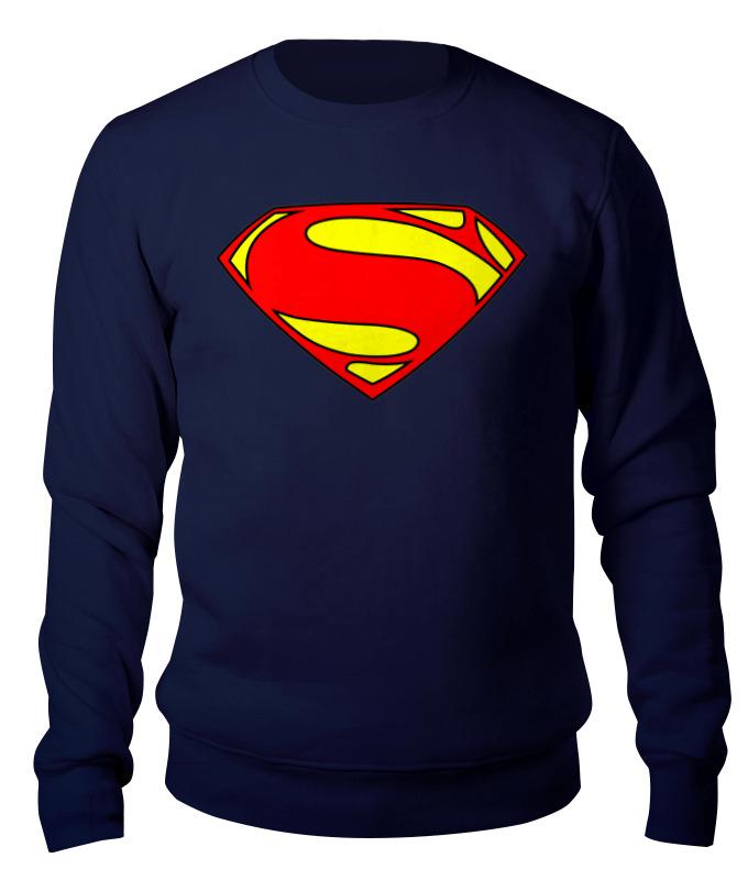 Свитшот унисекс хлопковый Printio Супермен цены онлайн