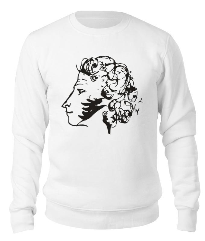 Свитшот унисекс хлопковый Printio Пушкин свитшот унисекс хлопковый printio спиннер