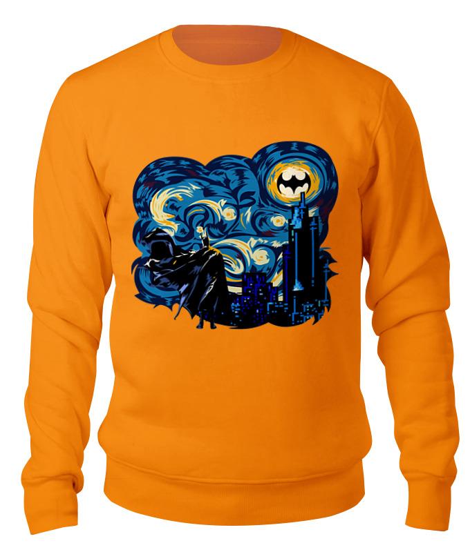 Свитшот унисекс хлопковый Printio Бэтмен (batman) свитшот унисекс хлопковый printio свитшоты бэтмэн