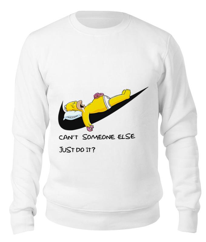 Свитшот унисекс хлопковый Printio Гомер nike свитшот унисекс хлопковый printio taxi driver